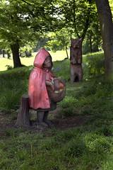 Bishopbriggs Park. (donachadhu) Tags: bishopbriggs scotland sonya77 littleredridinghood fairytale brothersgrimm folktale