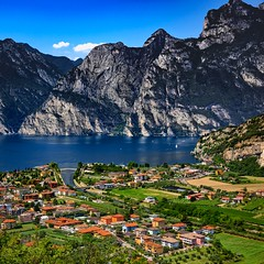 Torbole, Lake Garda, Italy. (Lens Luther) Tags: torbole lake garda italy mountans