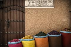 Tea Bags (carlos.aantunes) Tags: marrocos morocco tea bags street photography travel canon africa minimalist color door sell atlas marrakech funny wide portugal portuguese vacations