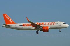easyJet UK G-EZWR Airbus A320-214 Sharklets cn/5981 @ Kaagbaan EHAM / AMS 06-06-2016 (Nabil Molinari Photography) Tags: easyjet uk gezwr airbus a320214 sharklets cn5981 kaagbaan eham ams 06062016