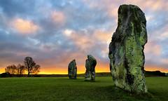Henge II (Solent Poster) Tags: vebury henge pentax k1 2470mm february 2017 historical monument neolithic standing stones wiltshire uk sunrise sunset