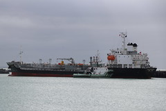 Theresa Micronesia (ambodavenz) Tags: theresa micronesia oil chemical tanker primeport port timaru boat vessel ship water ocean berthing south canterbury new zealand