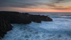 Mendocino Sunset (Images by William Dore) Tags: california usa nikondf nikon landscape seascape sunset goldenhour ocean rocks water drama dramatic magichour spring coast coastline westcoast