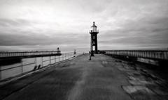 Whitby (plot19) Tags: whitby yorkshire coast england english north northern sony rx100 britain british blackwhite uk plot19 photography landscape