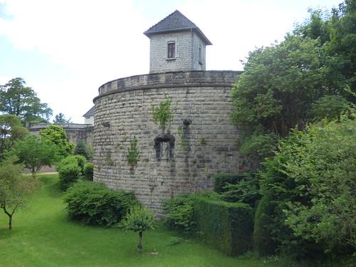Boulevard Maréchal Joffre, Beaune - Le Château de Beaune - Bastion St-Jean