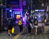 Purple night lights (Matthew P Sharp) Tags: seoul southkorea jongno night street streetphotography purple