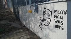 Suk ma bag (Randall 667) Tags: rhode island urban exploring graffiti street art artist writer meow man 2017 suk ma bag