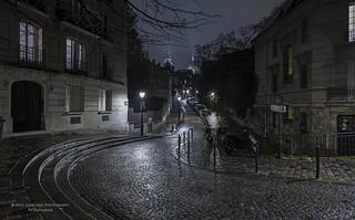 Paris n°157 - A Quiet Night In Montmartre