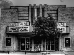 A Dead Date (clarkcg photography) Tags: tahlequah movie moviehouse movietheater theater nightofthelivingdead funnight movienight dark scary blackwhite bw thursdayblackwhite 7dwf