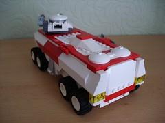 Kuroliszek - APC (Śląski Hutas) Tags: lego moc bricks futuristic scifi poland polska military armour