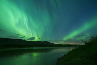 ISS and Aurora