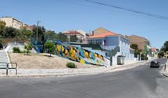 Loures Arte Pública 2017 (SERGEY AKRAMOV) Tags: louresartepublica sergeyakramov сергейакрамов graffiti graffuturism postgraffiti art aerosol artwork sprayart streetart abstraction fineart contemporary contemporaryart portugal loures lisbon lap festival lisboa