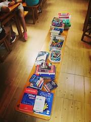 Día 8 . ¡Vaya colección de diccionarios!