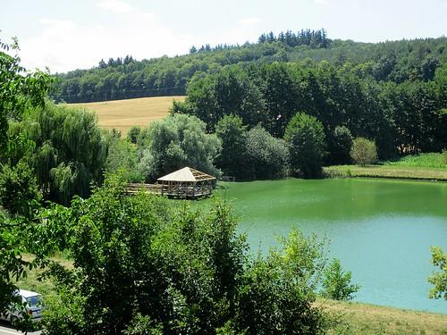 Archeoskanzen - rybník