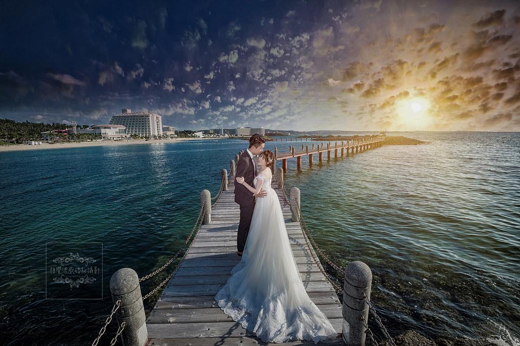 沖繩拍婚紗,喜來登聖瑪莉娜海濱飯店拍婚紗,日本海外婚紗沖繩,中和板橋台北海外婚紗,視覺流感