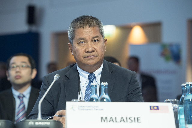 Saripuddin Kasim attending the open ministerial