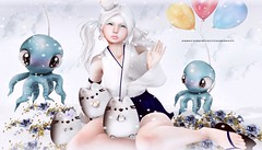 OCTOPUS BALLOON (Annyzinh Oliveira) Tags: okinawa summer festival 2017 more veechi summerfest altair japonica moon amore oppa cutieloot prtty the chapter four seasons story