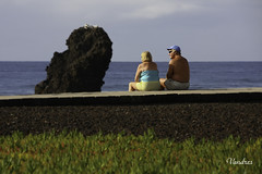 TETI1109_317R_FLK (Valentin Andres) Tags: blue canarias green islas playa playadelasamericas tenerife beach canary color colour descanso family friend island life people rest sculpture sea seascape