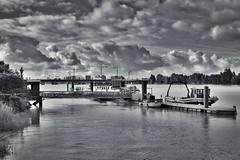 Rive droite - Bordeaux (@phr_photo) Tags: bordeaux garonne ville city landscape paysage france sudouest gironde nuage cloud fleuve river wb whiteandblack
