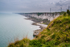 Natural defenses (Tony Shertila) Tags: fécamp normandie france europe normandy coast structure war defenses concrete architecture fortifications wwii worldwar nazi fecamp cliffs fra