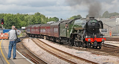 60103 Class A3 Pacific 'Flying Scotsman' (Roger Wasley) Tags: 60103 lner class a3 pacific flyingscotsman salisbury the cathedralsexpress station wiltshire trains steam railways uk gb britain british