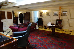 Captain's Cabin (koukat) Tags: uk drive portsmouth harbour solent historic dockyard museum navy hms warrior 1860 ship