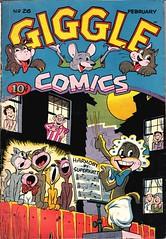 Giggle Comics 26 (Michael Vance1) Tags: comics comicbooks cartoonist art adventure artist anthology funnyanimals fantasy funny humor goldenage