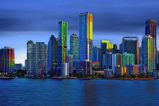 City of Miami-Miami-Dade County, Florida,USA / The Magic City