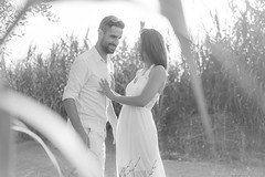 PreBoda ELI y JOSÉ (Javier Palacios Prieto) Tags: shooting laugh nature couple love wedding
