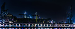 dark season (pbo31) Tags: sanfrancisco california nikon d810 color city june 2017 boury pbo31 urban bayarea night dark black panoramic large stitched panorama missionbay att giants baseball season sport stadium off skyline