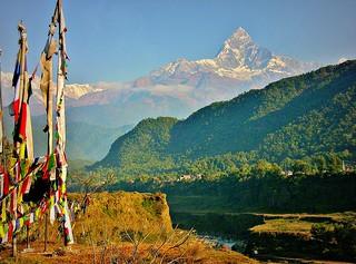 NEPAL, Rund um Pokhara mit Machapuchare, 16224/8528