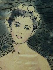 LAMY Pierre François - Baigneuses (drawing, dessin, disegno-Louvre RF39570) - Detail 075 (L'art au présent) Tags: drawing dessins disegno figures people art peintre details détail détails detalles dessins19e 19thcenturydrawings frenchpainters peintresfrançais croquis étude study sketch sketches museum paris france pierrefrançoislamy nakedwoman nakedwomen femmenue nufeminin nudefemale bare naked nue sensuelle sensual fille girl girls jeunefille lovers couple amoureux love rest repos sultry erotism érotisme tree trees arbre nature lake lac bathers bather femme women woman female jeunefemme youngwoman bust buste portrait portraits face faces visage pose model watercolour watercolor aquarelle