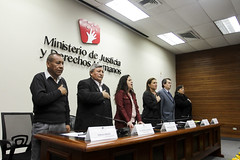 "Ministra inauguró ""V Congreso de la Coordinadora Nacional de Afectados por la Violencia Política"" • <a style=""font-size:0.8em;"" href=""http://www.flickr.com/photos/156664909@N08/35078437343/"" target=""_blank"">View on Flickr</a>"