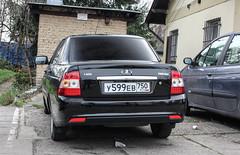 Russia (Moscow Oblast) - Lada Priora/VAZ-2170 (PrincepsLS) Tags: russia russian license plate 750 moskovskaya czech republic prague spotting lada priora vaz 2170