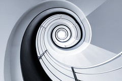 Function (Robert_Franz) Tags: architecture architectural staircase spiral abstract modern futuristic interior design white wideangle urban city