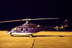 D-HHSC_25oct93EHGG2 (Heron81) Tags: dhhsc ehgg grq eelde groningeneelde groningenairporteelde gae helicopter bell bell222 cn 47080 n20461 n131gs n994aa bell222a slidescan night