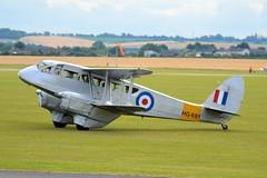 DRAGON RAPIDE BIPLANE (douglasbuick) Tags: aircraft dragon rapide historic flight biplane duxford airshow 2017 aviation flickr uk
