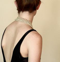 Aside (coollessons2004) Tags: woman breakfastattiffanys pearls elegant elegance beautiful