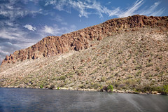 Canyon Lake  28 (Largeguy1) Tags: approved canyon lake water blue sky clouds mountains canon 5d mark ii