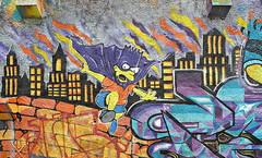 Lisboa 2017 - Calçada Moinho de Vento - Simpson (Markus Lüske) Tags: portugal lissabon lisbon lisboa graffiti graffito street streetart urbanart urban art arte kunst mural muralha wandmalerei strase lueske lüske