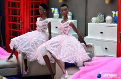 JATMAN - 2017-07-15 Glamor Girls 02 (JATMANStories) Tags: fashionroyalty barbie doll dolls dollcollecting diorama 16scale