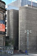 concrete curves (Harry Halibut) Tags: 2017©andrewpettigrew allrightsreserved imagesofsheffield images sheffieldarchitecture sheffieldbuildings sheffieldcurvedcorners colourbysoftwarelaziness south yorkshire publicartinsheffield public art streetart graffiti murals curved corners sheff1705232029 magistrates court waingate wall brutalist architecture bus stop union flag