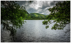 """In the Valley. (Ian Emerson """"I'm Back"""") Tags: valley wales water mountains fells hills trees landscape light shadows summer outdoor elan reservoir canon natural framed beauty scenic clouds stormy"""
