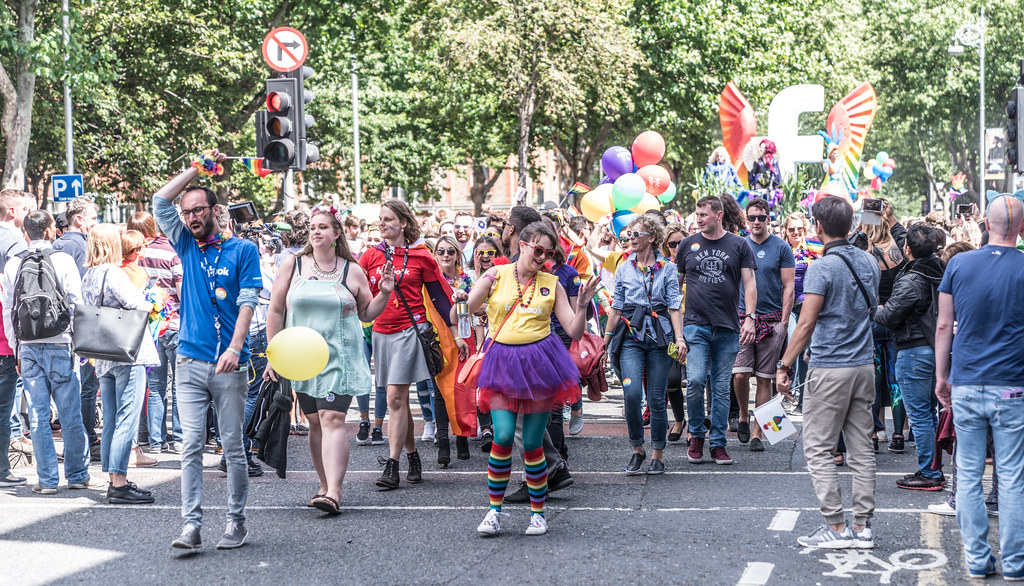 LGBTQ+ PRIDE PARADE 2017 [ON THE WAY FROM STEPHENS GREEN TO SMITHFIELD]-130013