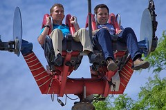 One Second After Liftoff (swong95765) Tags: slngshot ride nerves guys men fear gforce scary expressions faces