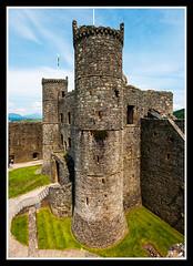 Harlech Castle Gatehouse (veggiesosage) Tags: wales harlech castle aficionados gx20 sigma1020mmf456dc harlechcastle