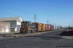 Newsprint on the move! (jamesbelmont) Tags: drgw sw1200 drgw135 saltlakecity utah passengermain newsprint boxcar train locomotive railroad