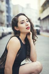 ROMINA (Sebastian Brown Photography) Tags: model stret style chile santiago beauty portrait retrato nikon d5300 bustamante red lips bestportraitsaoi