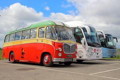 Granny Coach Tour (Fraser Murdoch) Tags: west end festival glasgow vintage vehicle trust gvvt bus coach corp corporation trans clyde spt riverside museum running day l446 leyland titan atlantean la927 jus774n jus 774n sgd448 sgd 448 irizar i6 bova vdl futura fhd2 bedford cz51 duple vista david macbrayne stagecoach western yys174 yys 174 54 city circle garelochhead coaches yn16wux yn16 wux e6ghc e6 ghc transport fraser murdoch canon eos 650d
