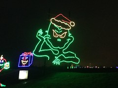 14 Grinch (megatti) Tags: buckscounty christmas christmaslights grinch pa pennsylvania shadybrookfarm yardley